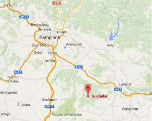 Plano cómo llegar Guetadar